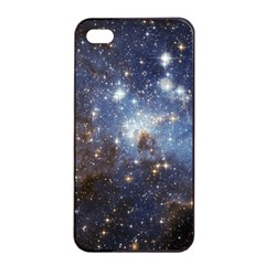 Large Magellanic Cloud Apple iPhone 4/4s Seamless Case (Black)