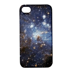 Large Magellanic Cloud Apple iPhone 4/4S Hardshell Case with Stand