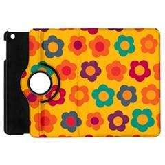 Floral pattern Apple iPad Mini Flip 360 Case