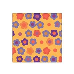 Floral pattern Satin Bandana Scarf