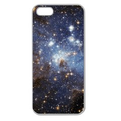 Large Magellanic Cloud Apple Seamless iPhone 5 Case (Clear)
