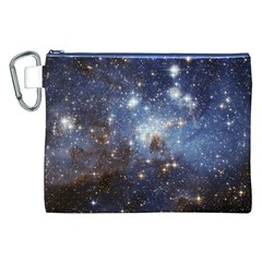 Large Magellanic Cloud Canvas Cosmetic Bag (XXL)