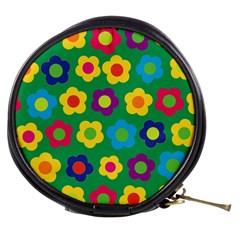 Floral Pattern Mini Makeup Bags