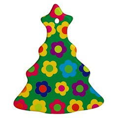 Floral pattern Ornament (Christmas Tree)