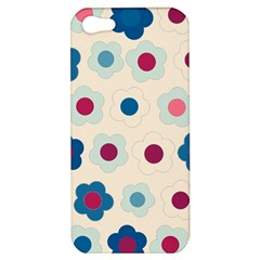Floral pattern Apple iPhone 5 Hardshell Case