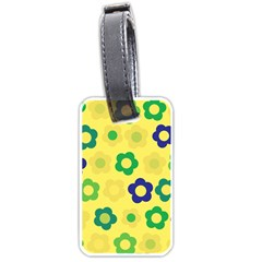 Floral pattern Luggage Tags (One Side)
