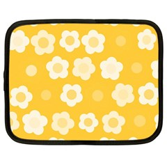Floral pattern Netbook Case (Large)