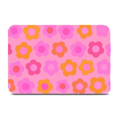 Pink floral pattern Plate Mats