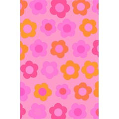 Pink floral pattern 5.5  x 8.5  Notebooks
