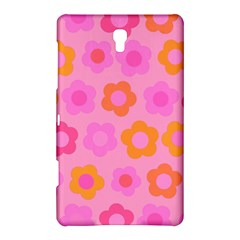 Pink floral pattern Samsung Galaxy Tab S (8.4 ) Hardshell Case