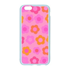 Pink floral pattern Apple Seamless iPhone 6/6S Case (Color)