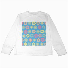 Floral pattern Kids Long Sleeve T-Shirts