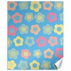Floral pattern Canvas 16  x 20