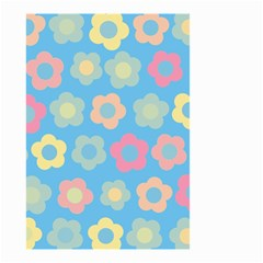 Floral pattern Small Garden Flag (Two Sides)