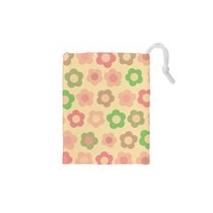 Floral pattern Drawstring Pouches (XS)