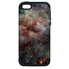 Tarantula Nebula Apple iPhone 5 Hardshell Case (PC+Silicone)