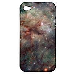 Tarantula Nebula Apple iPhone 4/4S Hardshell Case (PC+Silicone)
