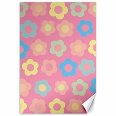 Floral pattern Canvas 12  x 18