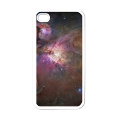Orion Nebula Apple iPhone 4 Case (White)