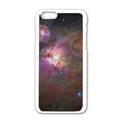 Orion Nebula Apple iPhone 6/6S White Enamel Case