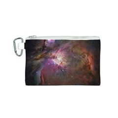 Orion Nebula Canvas Cosmetic Bag (S)