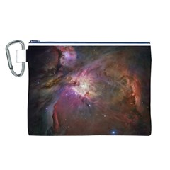 Orion Nebula Canvas Cosmetic Bag (L)
