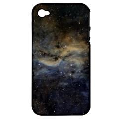 Propeller Nebula Apple iPhone 4/4S Hardshell Case (PC+Silicone)