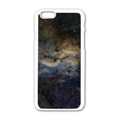 Propeller Nebula Apple iPhone 6/6S White Enamel Case