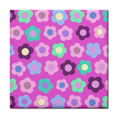 Floral pattern Face Towel