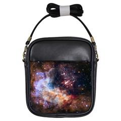 Celestial Fireworks Girls Sling Bags
