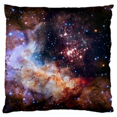 Celestial Fireworks Standard Flano Cushion Case (Two Sides)