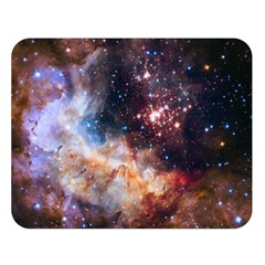 Celestial Fireworks Double Sided Flano Blanket (Large)