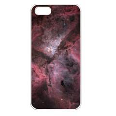 Carina Peach 4553 Apple iPhone 5 Seamless Case (White)