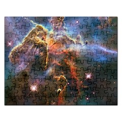 Pillar And Jets Rectangular Jigsaw Puzzl
