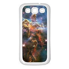 Pillar And Jets Samsung Galaxy S3 Back Case (White)