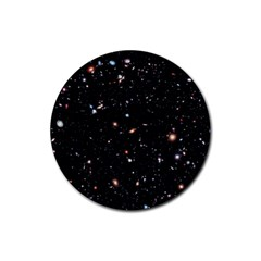 Extreme Deep Field Rubber Round Coaster (4 pack)