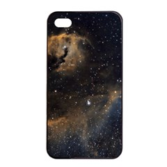 Seagull Nebula Apple iPhone 4/4s Seamless Case (Black)