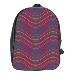 Pattern School Bags (XL)