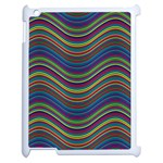 Pattern Apple iPad 2 Case (White) Front