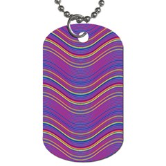 Pattern Dog Tag (One Side)