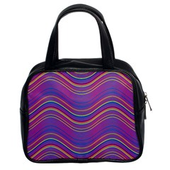 Pattern Classic Handbags (2 Sides)