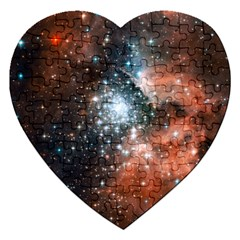 Star Cluster Jigsaw Puzzle (Heart)