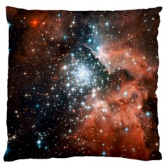 Star Cluster Large Cushion Case (Two Sides)
