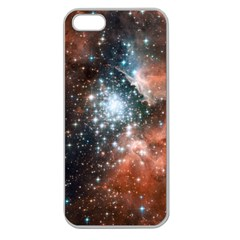 Star Cluster Apple Seamless iPhone 5 Case (Clear)