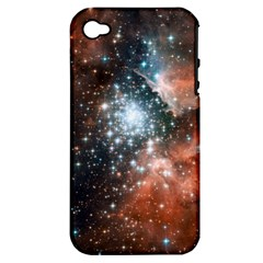 Star Cluster Apple iPhone 4/4S Hardshell Case (PC+Silicone)