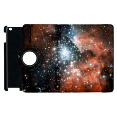 Star Cluster Apple iPad 3/4 Flip 360 Case