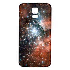 Star Cluster Samsung Galaxy S5 Back Case (White)