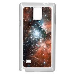 Star Cluster Samsung Galaxy Note 4 Case (White)