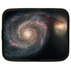 Whirlpool Galaxy And Companion Netbook Case (Large)