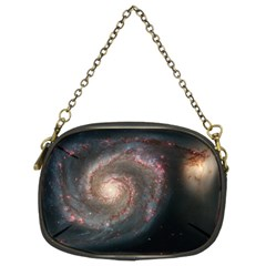 Whirlpool Galaxy And Companion Chain Purses (Two Sides)